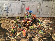 WHMS warhammer 40k pro painted space ork warboss & Grots Kill team conversions