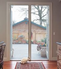 "Double Door Retractabl​e Screen Door fits up to 98"" tall (Custom Built)"