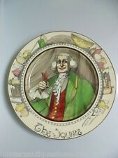 "Royal Doulton ""The Squire"" English Collector Plate D-6284 1920/30's"
