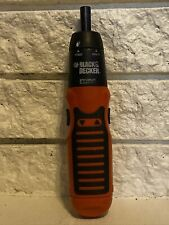 Black & Decker Battery Operated Power/Manual Screwdriver in Working Condition