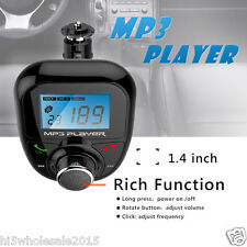 Steering Wheel+LCD Car Kit MP3 Bluetooth Player FM Transmitter Auto Radio Remote