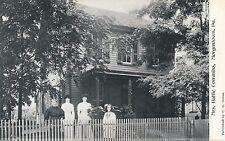 MORGANTOWN PA – Mrs. Hattie Commins Home – udb (pre 1908)