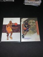 Kobe Bryant Flair Lot 2001 And 2005 Lakers