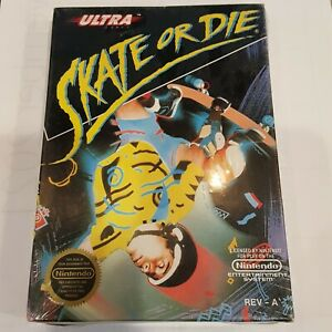 Skate or Die Nintendo Entertainment System 1988 NES Brand New Sealed REV A Ultra
