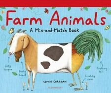 Farm Animals A Mix-and-Match Book by Sophie Corrigan 9781408894095 | Brand New