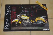 🚩 Brochure moto custom YAMAHA Royal Star accessoires cuir et chromés 1997