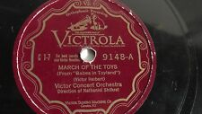 Victor Concert Orchestra - 78rpm single 12-inch – Victrola V.E. #9148 March Of..