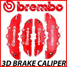 For Mercedes-Benz 4pcs Red Disc Racing Brake Caliper Cover # 16-18 inch wheels