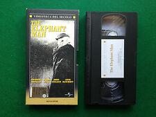 Film VHS - THE ELEPHANT MAN di David Linch A.Hopkins , Ed Mondadori (1980)