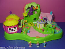 Polly Pocket Mini ♥ foresta incantata ♥ Magical Movin Fairyland ♥ 100% COMPLETO ♥ 1997 ♥