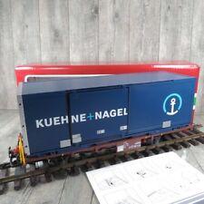 LGB 40893 - SPUR G - Containerwagen Kühne und Nagel - OVP - #AE38496