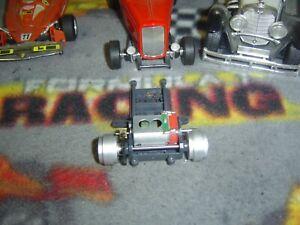 1/32 Slot.it sidewinder motor pod,orange end motor, gear, rear axle, rims-used