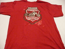 OCC ORANGE COUNTY CHOPPERS MENS LARGE RED T-SHIRT NEW WITH TAGS