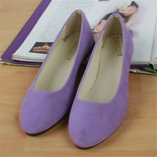 Women Flat Ballet Shoes Slip On Flats Boat Single Shoes Loafers Multi-color
