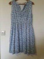 Cath Kidston Ditsy Floral Classic Summer Dress with pockets Size 10