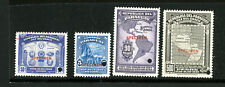 Paraguay Stamps VF OG NH 1939 Specimen Group of 4