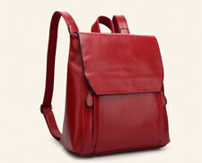 Japan Preppy Style Zipper School Bag - Wine Red (TFK042255)