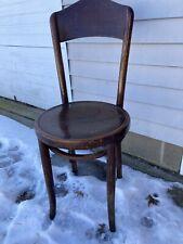 Vintage Wood Bistro Chair 1919