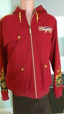 mens fashion red coogi jacket XL with hood. Fall,winter @C