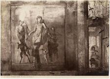 Photo Giorgio Sommer Albuminé Italie Pompéï Italia Vers 1880