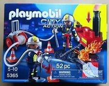 Playmobil City Action Feuerwehrmänner mit Löschpumpe | 5365 | NEU in OVP