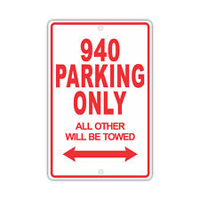 VOLVO 940 Parking Only Others Towed Man Cave Novelty Garage Aluminum Sign
