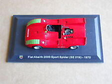 Leo Models CAR DIE CAST 1:43 FIAT ABARTH 2000SPORT SPIDER 1970 (SE 019) [MV-13 ]