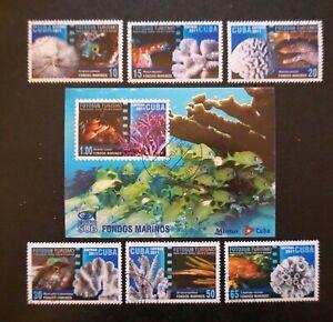 sCUBA Sc# 5249-5255 UNDERWATER PHOTOGRAPHY marine life CPL SET of 6 +SS 2011 MNH