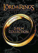 THE LORD OF THE RINGS 3 FILM COLLECTION DVD FELLOWSHIP TWO TOWERS RETURN KING