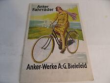 altes Prospekt Anker Fahrräder Bielefeld