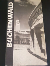 KZ BUCHENWALD BEI WEIMAR BOOKLET GERMANY CONCENTRATION CAMP WWII