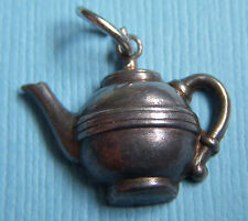 Vintage 40's teapot sterling charm