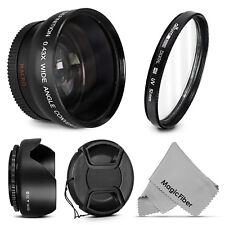 52MM Wide Angle Macro Lens + UV Filter for Nikon D5200 D5100 D3300 D3200 D3100