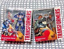 TransFormers Optimus Prime Leader Class Grimlock DinoBot Set TF4 AOE Titans G1