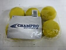 Champro Lacrosse Ball Yellow 6 Pack