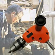 Right Angle Drill Attachment Chuck Electric Adapter Power Cordless 3/8 90 Degree