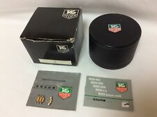 Tag Heuer Vintage 1981 Watch Box set + Booklets + Links + FREE SHIPPING