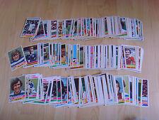 Tarjetas de fútbol Topps Red Espalda 1977 6 tarjetas individuales-que tu elijas