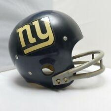 New York NY Giants Game Used Ridell Kra Lite Football Helmet