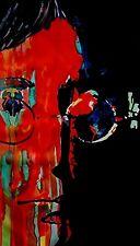 John lennon peinture à l'huile 30x16 pas imprimer ou poster beatles mccartney abbey road