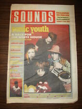 SOUNDS 1988 OCT 29 SONIC YOUTH SABBATH THE FALL DANZIG