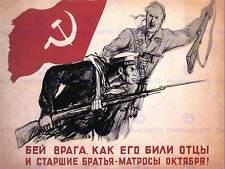 War Propaganda Ww2 Navy Soviet Union Vintage Retro Advertising Poster Art 2748py