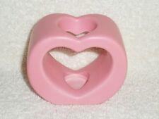Partylite SmartScents Pink Ceramic Heart Holder - Nib