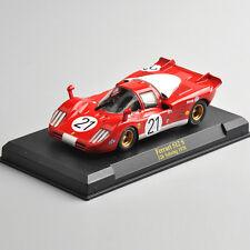 1/43 Diecast Ferrari 512 S 12h Sebring 1970 Racing Car Vehicles Model Toy