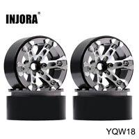 """2.0"""" Metal Beadlock Wheel Fit 1.9 Tire 1/10 RC TRX4 Axial SCX10 90046 AXI03007"""