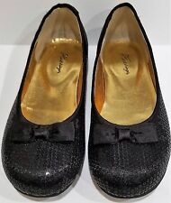 HARTSTRINGS GIRLS BLACK SHOES SZ 3 NEW