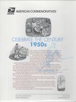 SSS: USPS 1999  Commemorative Panel #571  Celebrate the Century 1950s  Sc #3187