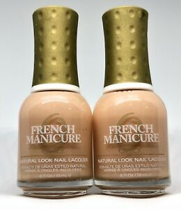 Orly French Manicure Nail Polish DEJA VU 42494 Opalescent Nude Peach Lacquer