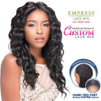 Sensationnel Synthetic Lace Front Wig Empress Edge Custom Lace Loose Deep