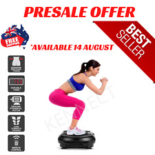 Fortis Vibration Plate Home Gym Body Workout Exercise Machine Weight Fat Loss